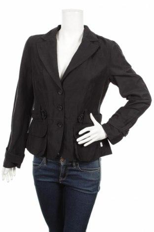 Дамско сако Inizia, Размер L, Цвят Черен, 50% полиамид, 28% лен, 22% памук, Цена 8,40лв.