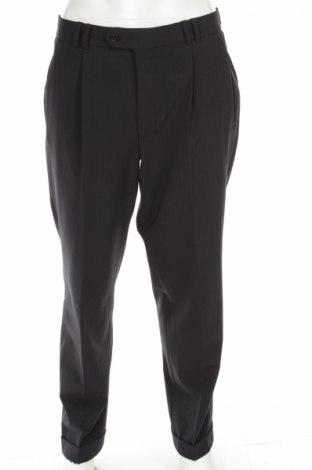 Ανδρικό παντελόνι Frans Molenaar, Μέγεθος L, Χρώμα Μπλέ, 50% μαλλί, 47% πολυεστέρας, 3% ελαστάνη, Τιμή 8,66€