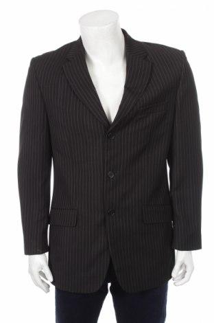 Ανδρικό σακάκι Essentiel, Μέγεθος L, Χρώμα Μαύρο, 77% πολυεστέρας, 23% βισκόζη, Τιμή 16,16€