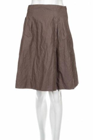 Пола H&M, Размер S, Цвят Кафяв, Цена 6,40лв.