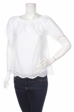 Γυναικεία μπλούζα Tom Tailor, Μέγεθος M, Χρώμα Λευκό, Βαμβάκι, Τιμή 12,63€
