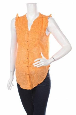 Дамска риза H&M L.o.g.g, Размер S, Цвят Оранжев, Памук, Цена 4,50лв.