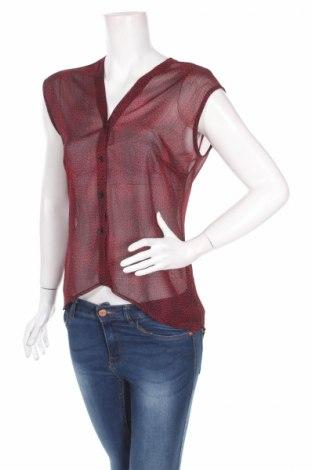 Γυναικείο πουκάμισο Rainbow, Μέγεθος M, Χρώμα Κόκκινο, Τιμή 4,33€