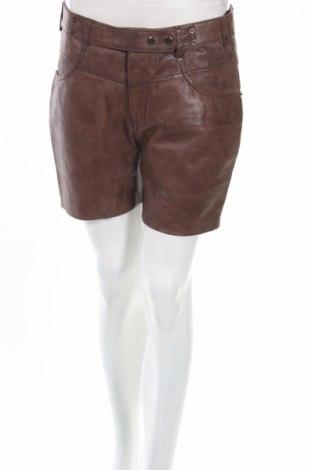 Pantaloni scurți de piele barbați Auluna
