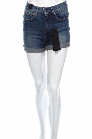 Дамски къс панталон Drykorn for beautiful people, Размер XS, Цвят Син, 92% памук, 8% еластан, Цена 34,50лв.