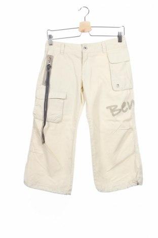 Дамски панталон Bench, Размер S, Цвят Бежов, Памук, Цена 10,51лв.