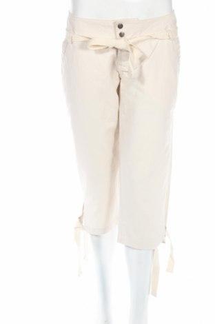 Дамски панталон Dolce Ribelle, Размер S, Цвят Бежов, Памук, Цена 8,16лв.