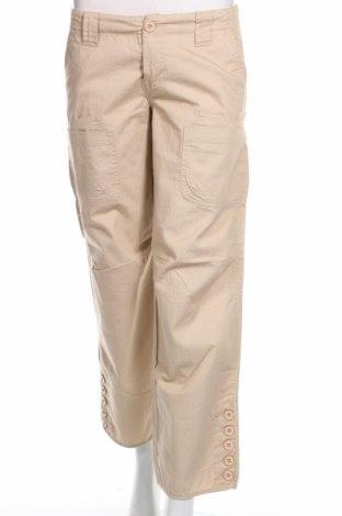 Дамски панталон Vero Moda, Размер S, Цвят Бежов, Памук, Цена 9,66лв.