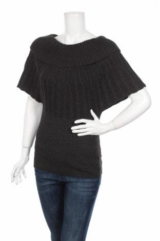 Дамски пуловер, Размер M, Цвят Сив, 69% акрил, 15% вискоза, 16% полиамид, Цена 26,40лв.