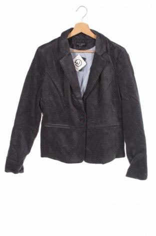 Детско сако Just Jeans, Размер 14-15y/ 168-170 см, Цвят Сив, Памук, еластан, Цена 11,00лв.