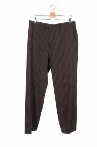 Ανδρικό παντελόνι Sarar, Μέγεθος L, Χρώμα Καφέ, 99% μαλλί, 1% πολυεστέρας, Τιμή 6,97€