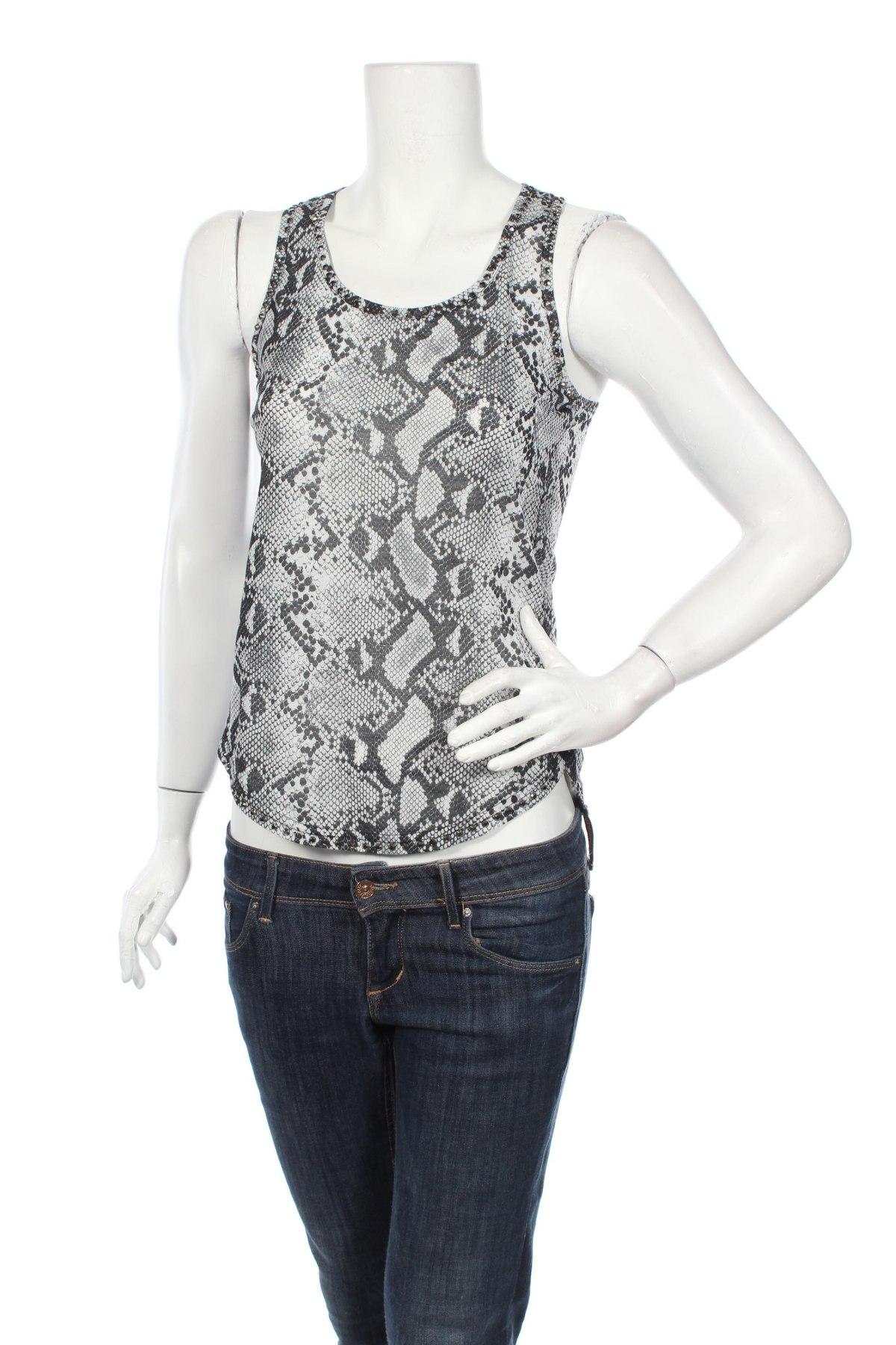 Tricou de damă Women Only, Mărime S, Culoare Gri, 95% poliester, 5% elastan, Preț 57,41 Lei