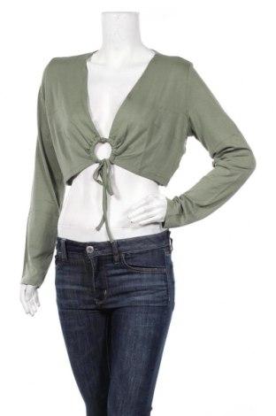 Дамска блуза Aniston, Размер XL, Цвят Зелен, 95% вискоза, 5% еластан, Цена 3,04лв.