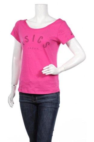 Дамска блуза ASICS, Размер XS, Цвят Розов, 60% памук, 40% полиестер, Цена 11,44лв.