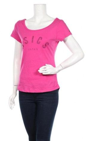 Дамска блуза ASICS, Размер XS, Цвят Розов, 60% памук, 40% полиестер, Цена 9,80лв.
