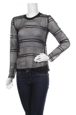 Дамска блуза Aniston, Размер XS, Цвят Черен, Полиестер, Цена 4,56лв.
