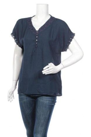 Дамска блуза Best Mountain, Размер M, Цвят Син, Полиестер, Цена 16,77лв.