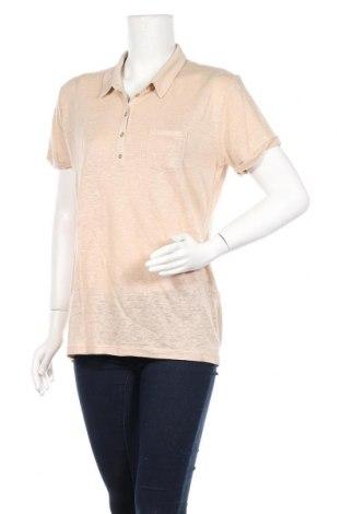 Дамска блуза Burton of London, Размер XL, Цвят Бежов, Лен, Цена 38,35лв.