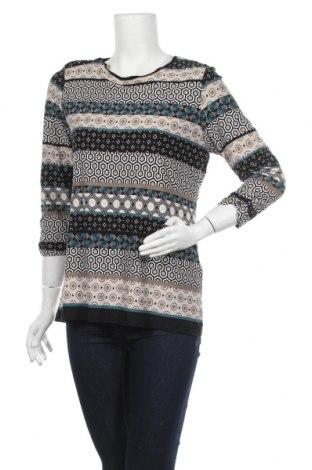 Γυναικεία μπλούζα Canda, Μέγεθος M, Χρώμα Πολύχρωμο, 95% βισκόζη, 5% ελαστάνη, Τιμή 11,69€
