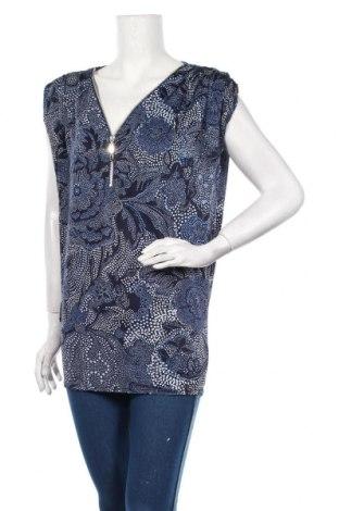 Дамска блуза Jacqueline Riu, Размер XS, Цвят Син, 92% полиестер, 8% еластан, Цена 13,77лв.