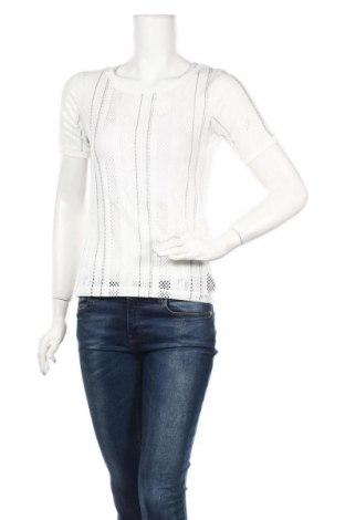Γυναικεία μπλούζα Motivi, Μέγεθος S, Χρώμα Λευκό, 98% πολυεστέρας, 2% ελαστάνη, Τιμή 9,65€