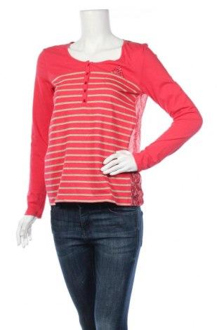 Дамска блуза One Step, Размер S, Цвят Многоцветен, 56% памук, 7% полиамид, 7% полиестер, Цена 26,07лв.