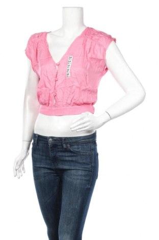 Γυναικεία μπλούζα Oysho, Μέγεθος M, Χρώμα Ρόζ , Βισκόζη, Τιμή 4,51€
