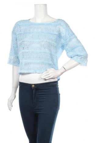 Дамска блуза Rinascimento, Размер S, Цвят Син, Полиестер, Цена 51,35лв.