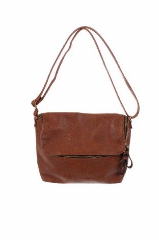 Дамска чанта H&M, Цвят Кафяв, Еко кожа, Цена 15,88лв.