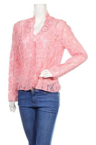 Γυναικεία ζακέτα Armand Ventilo, Μέγεθος XL, Χρώμα Ρόζ , 75% βαμβάκι, 25% πολυαμίδη, Τιμή 28,45€