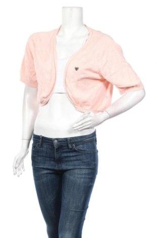 Dámsky kardigán Fairwear, Veľkosť XXL, Farba Ružová, 60% viskóza, 40% bavlna, Cena  10,77€