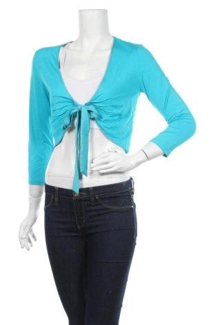 Γυναικεία ζακέτα More & More, Μέγεθος M, Χρώμα Μπλέ, 95% βισκόζη, 5% ελαστάνη, Τιμή 4,68€