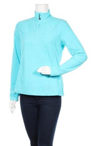 Дамска поларена блуза Bergson, Размер M, Цвят Син, Полиестер, Цена 9,45лв.