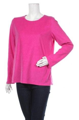 Дамска поларена блуза Croft & Barrow, Размер M, Цвят Розов, Полиестер, Цена 4,99лв.