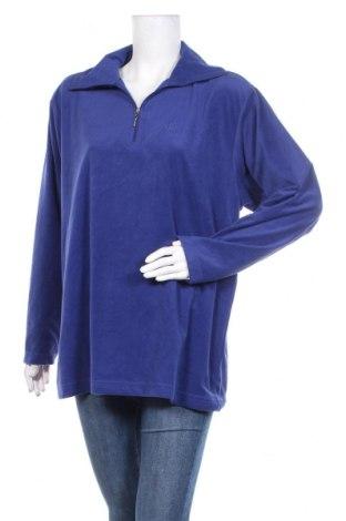 Дамска поларена блуза TCM, Размер L, Цвят Син, Полиестер, Цена 6,04лв.