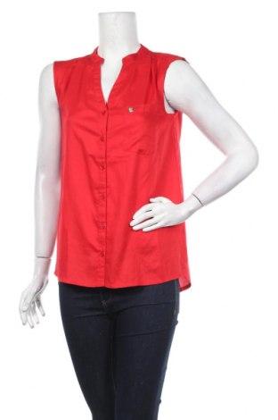 Дамска риза Tom Tailor, Размер M, Цвят Червен, Вискоза, Цена 34,22лв.