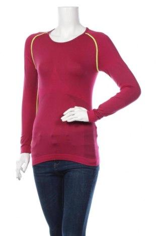 Дамска спортна блуза, Размер M, Цвят Розов, 66% полиамид, 24% полиуретан, 10% еластан, Цена 8,98лв.