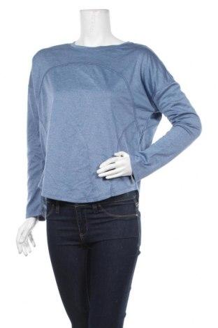 Дамска спортна блуза, Размер M, Цвят Син, Полиестер, Цена 6,62лв.