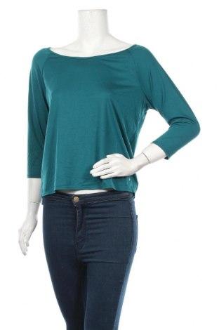 Дамска спортна блуза Active By Tchibo, Размер S, Цвят Син, 65% полиестер, 35% вискоза, Цена 5,51лв.