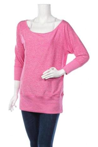 Дамска спортна блуза Active By Tchibo, Размер S, Цвят Розов, 87% полиестер, 13% еластан, Цена 8,51лв.