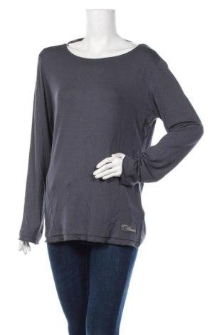 Дамска спортна блуза Champion, Размер XL, Цвят Сив, 92% модал, 8% еластан, Цена 34,50лв.