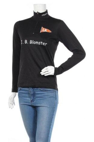 Дамска спортна блуза Craft, Размер S, Цвят Черен, Полиестер, Цена 4,46лв.