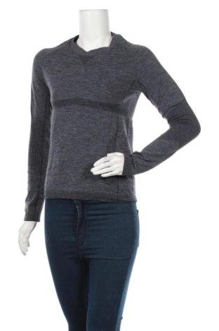 Дамска спортна блуза Crane, Размер M, Цвят Син, Цена 8,98лв.