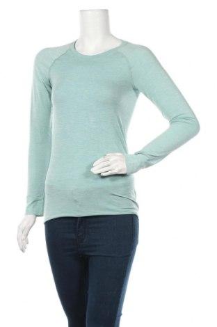 Дамска спортна блуза H&M Sport, Размер S, Цвят Зелен, Цена 8,98лв.