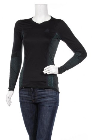 Дамска спортна блуза Odlo, Размер S, Цвят Черен, Цена 42,00лв.