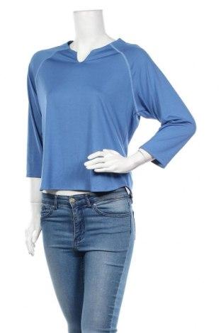 Дамска спортна блуза Title Nine, Размер L, Цвят Син, 86% полиестер, 14% еластан, Цена 4,73лв.