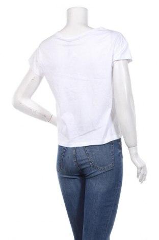 Дамска тениска Cop.copine, Размер S, Цвят Бял, Памук, Цена 59,25лв.