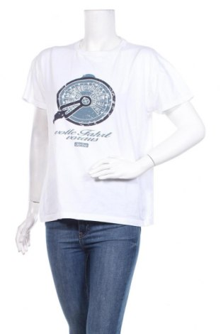 Дамска тениска Derbe, Размер M, Цвят Бял, Памук, Цена 18,56лв.