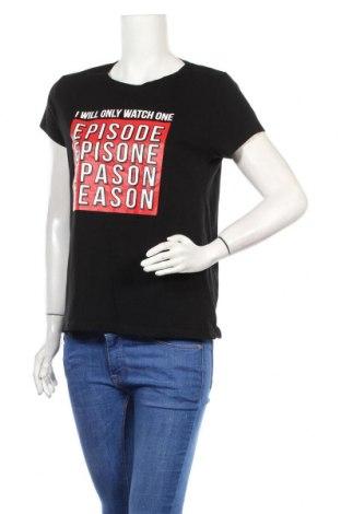 Дамска тениска Fb Sister, Размер L, Цвят Черен, Памук, Цена 20,52лв.