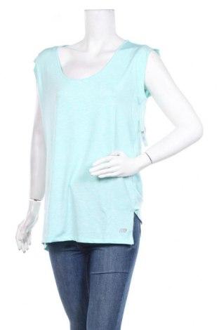 Дамска тениска Marika, Размер XL, Цвят Син, 90% полиестер, 10% еластан, Цена 9,20лв.